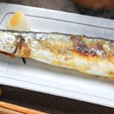 焼き魚と大根おろし